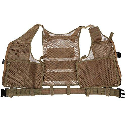 Lixada Armée Tactique Vest extérieure CS Champ Swat air de Jeu de Guerre Cosplay de Counter Strike Jeu Chasse Camping… 3
