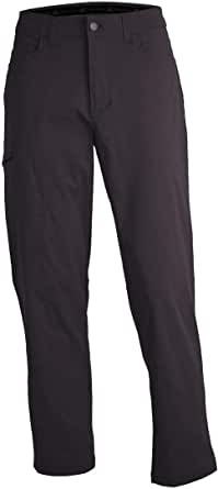 ZeroXposur Mens Stretch Hiking Travel Pants with Side Zipper Pocket and UPF 50+