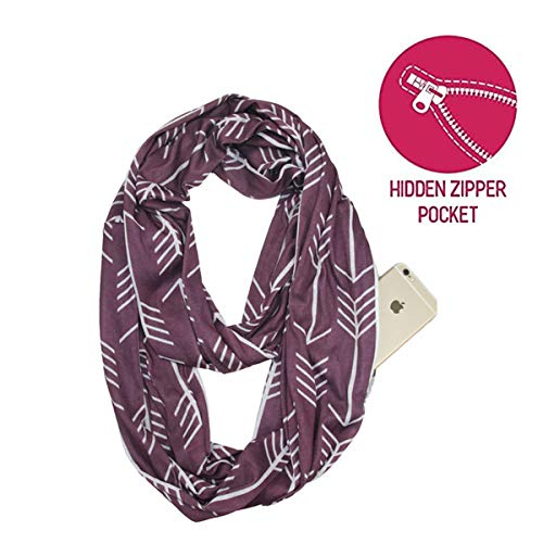 (Lucky Leaf Women Lightweight Cozy Infinity Loop Scarf with Various Artist Print)
