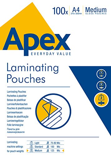Fellowes Apex Laminating Pouch - 5