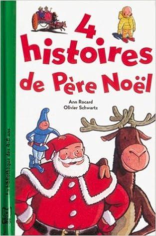 Derniers livres électroniques 4 histoires du Père Noël PDF ePub iBook
