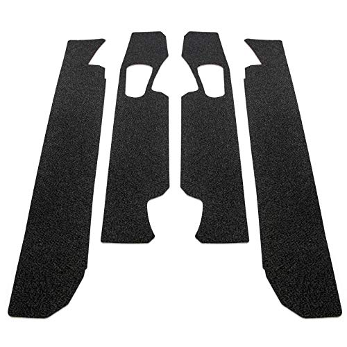 Red Hound Auto Door Entry Guards Scratch Shield 2017-2019 Compatible with Ford F-250 F-350 Super Duty Crew Cab 4pc Paint Protector Threshold Kit