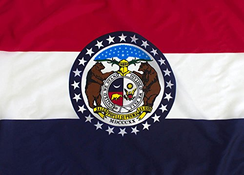 3x5ft Missouri Flag - Highest Quality Outdoor Nylon