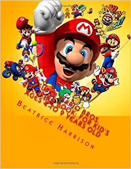 super mario bros coloring book for kids ages 4 to 9 years old beatrice harrison 9781494426040 amazoncom books - Super Mario Coloring Book