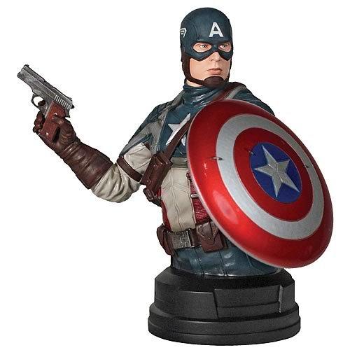 Captain America Movie SDCC 2011 San Diego ComicCon Exclusive Bust Captain America