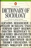 Cover of Dictionary of Sociology, The Penguin (Penguin Reference Books)