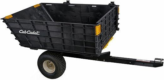 Cub Cadet - Remolque plegable 400 kg: Amazon.es: Jardín