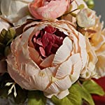 Wedding-Bride-Bouquet-Wedding-Holding-Bouquet-Artificial-Peony-and-Rose-Flowers-Natural-Jute-Twine-for-Wedding-Engagement-Valentines-Day-and-Church-Satin-Bride-Bouquets-25cm-X-30cm-Pink-Bouquet