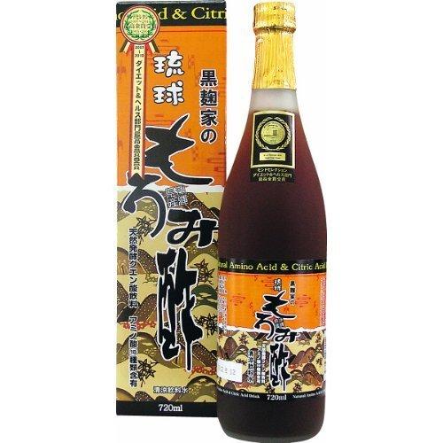 Black malt house of Ryukyu mash vinegar 720ml