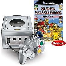 Nintendo Game Platinum Console with Super Smash Bros Melee - GameCube
