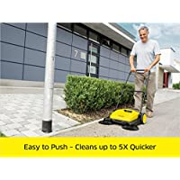 Karcher Outdoor Push Sweeper - easy to push