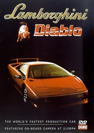 Lamborghini Diablo Dvd Region 1 Ntsc Amazon Co Uk Dvd Blu Ray