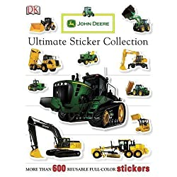 John Deere: Ultimate Sticker Collection (ULTIMATE STICKER COLLECTIONS) by DK Publishing [Paperback(2009/3/30)]