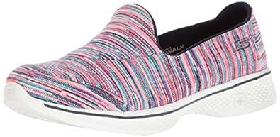 Skechers Go 4 Merge - Zapatillas de Senderismo para Mujer, Multicolor, 10 M US