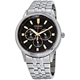 Citizen Corso Eco-Drive Movement Black Dial Men's Watch BU2070-55E