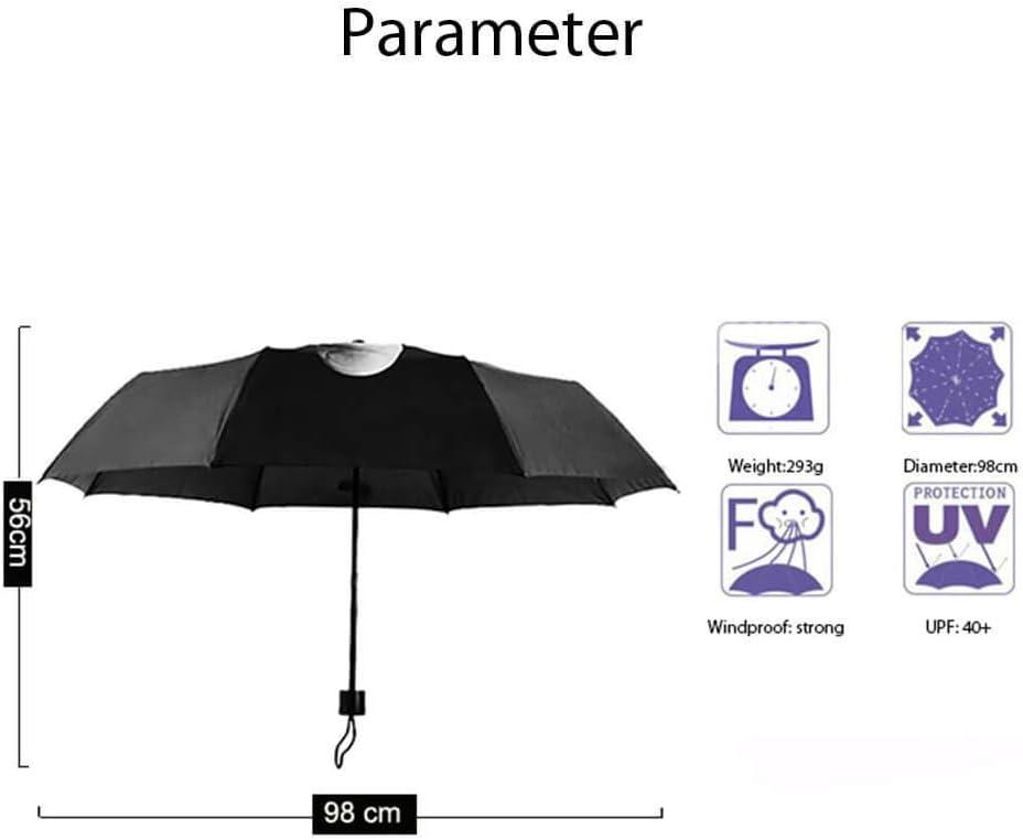 Ombrello antivento con design unico e dito medio compatto