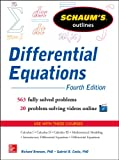 Schaum's Outline of Differential Equations, 4th