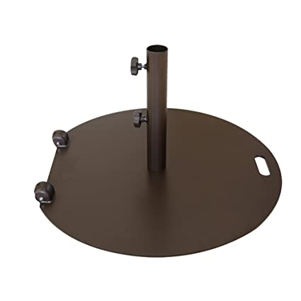 Amazon Com Abba Patio 55 Lb Steel Market Patio Umbrella Base