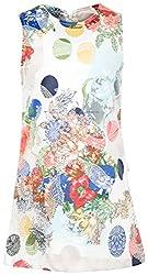 Lilax Little Girls' Polka Dot Jacquard Occasion Dress 2T Navy