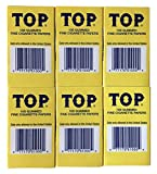 TOP Rolling Papers, 6 Pack Bundle, 600 Cigarette