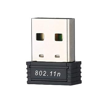 150Mbps 150M Mini USB Adaptador inalámbrico WiFi Tarjeta de ...