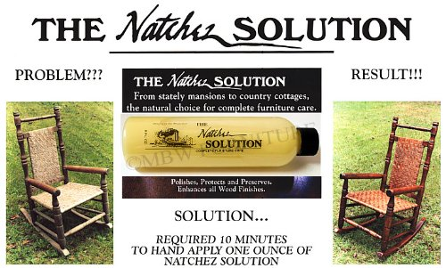 Amazon The Natchez Solution Complete Furniture Care Beeswax w/ Lemon  Oil 8oz Everything Else