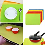 JD Million shop 30*40cm Non-stick Silicone Mats Baking Liner Oven Mat Heat Insulation Pad Bakeware Rolling Pastry Mats Cooking Tools Book Mat