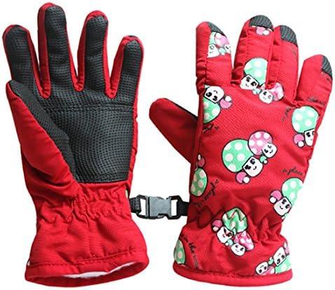 [해외]RETYLY 쌍 미끄럼, 2-4 세 어린이용 스키 스케이트 장갑 (레드) / RETYLY Pair slipping, ski skate gloves (red) for children aged 2-4