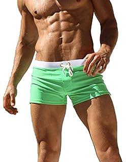 Malavita Mens Swim Shorts Slim Wear with Pocket(XXL, Green) (B073SVPB7B)   Amazon price tracker / tracking, Amazon price history charts, Amazon price watches, Amazon price drop alerts