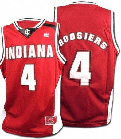 official photos b7ec3 79b8b Amazon.com: Indiana Hoosiers Youth Hang Time NCAA Basketball ...