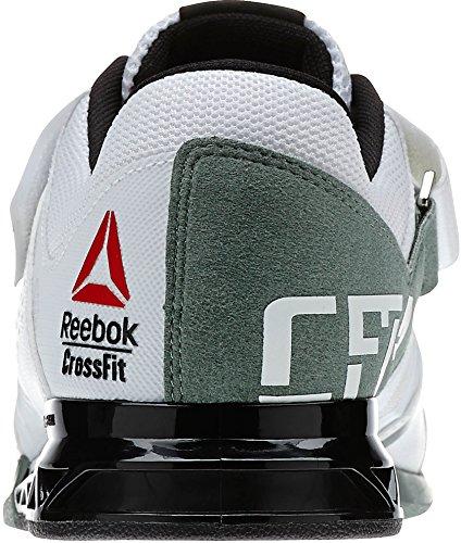 Reebok Herren Crossfit Lifter Plus 2.0 Laufschuh Weiß-schwarz-grün