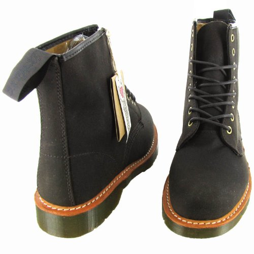Dr. Stivaletto Allacciatura Marrone Scuro Martens Mens Marrone Scuro