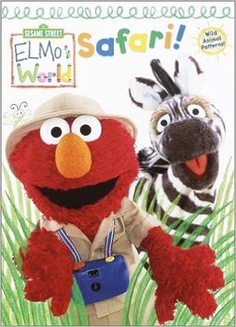 Elmo S World Safari Color Plus Textured Cards Golden