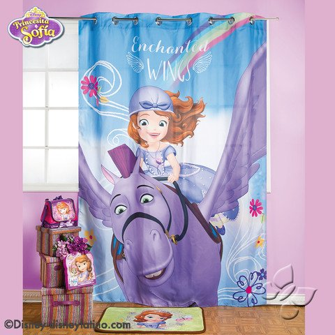 Disney Sofia The First Princess Room Bedroom Curtain Decoration Gift Limited Edition