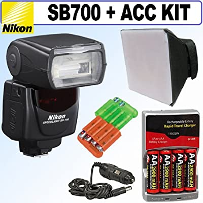 Nikon SB-700 AF Speedlight Flash + Accessory Kit from Nikon Cameras