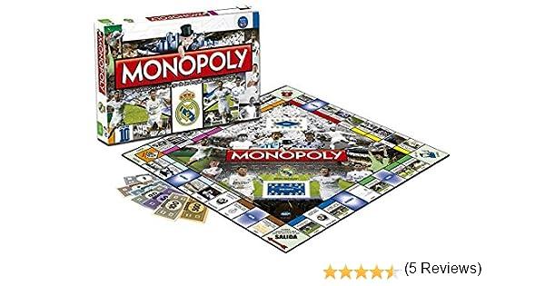 Real Madrid Juego Monopoly 2º edición 82431: Amazon.es: Juguetes y juegos