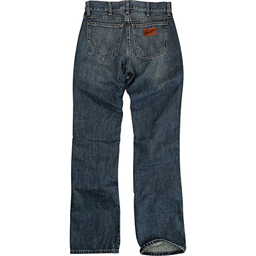 Wrangler Men's Retro Slim Fit Boot Cut Jean, River Wash, 30x34 for $<!--$42.39-->