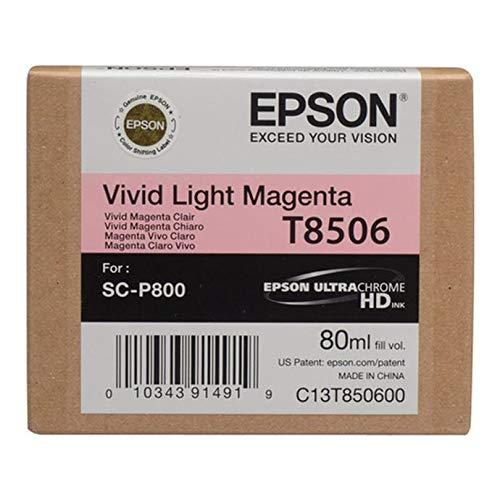 Epson T850600 T850 UltraChrome HD Vivid Light Magenta Ink