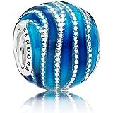Pandora Women Silver Bead Charm - 797012ENMX