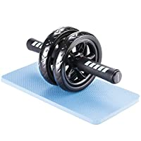 Readaeer Ab Roller Wheel Abdominal Exercise Workout Equipment with Knee Pad from Readaeer