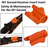 GRG M1 Garand Receiver Insert, Safety and Maintenance for the M1 Garand, Bright Orange