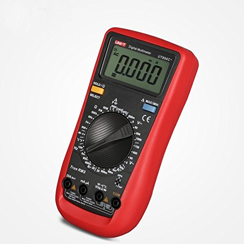 Universal Jumper Lead Set (UT890C+ Digital True RMS Multimeter Multimetro Tester With Test Lead Cable)