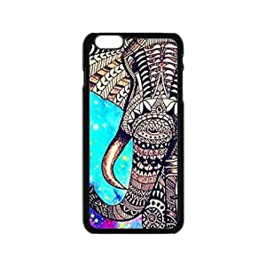 Eric-Diy Colorful Elephant case cover for iPhone 6,Light Plastic Materials Shock Absorbing and Scratch Resistant Perfect 2 sPjz43b9srM in 1