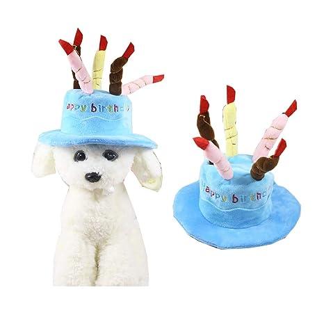Morbuy Interesante Disfraz de Sombrero de cumpleaños ...