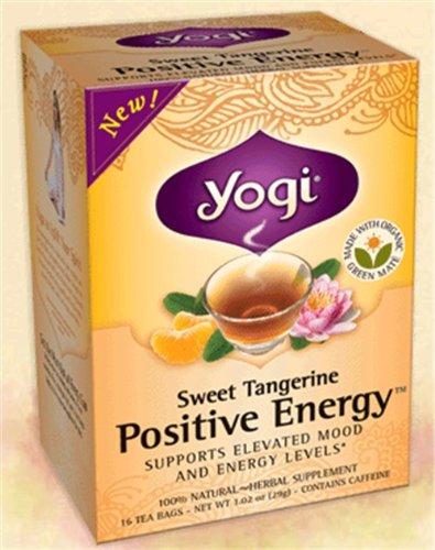 Doux énergie positive Tangerine (Caisse de 6) 16 Sachets