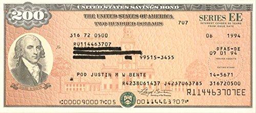 $200 U.S. Savings Bond