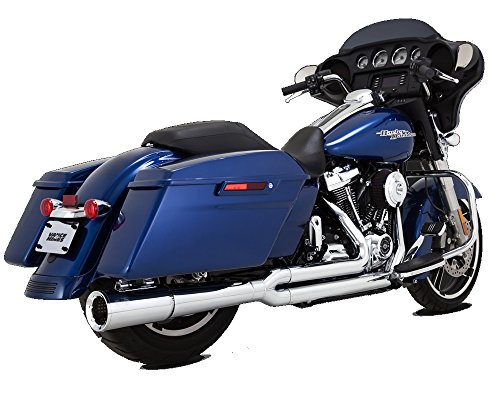 Vance and Hines Pro Pipe - Chrome - 2017 and Newer Harley Davidson - Pro Hines Pipe