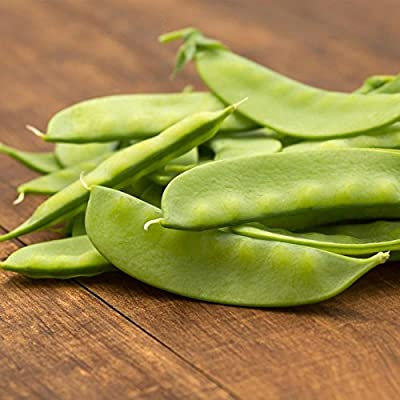 Dwarf Sugar Grey Snow Pea Garden Seeds - Non-GMO, Heirloom Vegetable Gardening & Microgreens Seeds