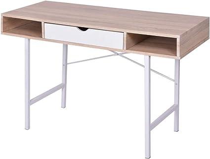 Escritorio con estantería,Escritorios y mesas para ordenador ...