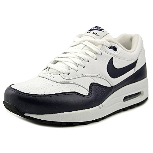 Nike Air Max 1 Leather Men's Running Shoes 654466-004